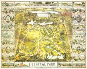 Central Park 1863 by John Bachmann