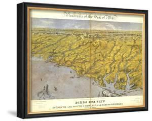 North and South Carolina and Part of Georgia, c.1861 by John Bachmann