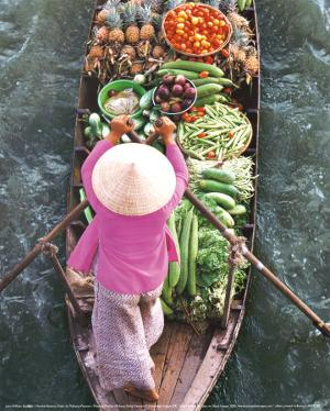 Floating Market by John Banagan