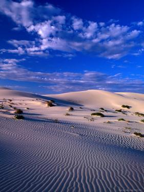 Sand Dunes Carved by Wind, Eucla National Park, Australia by John Banagan