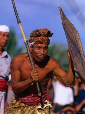 Traditional Sport of Stick-Fighting in Kuripan, Indonesia by John Banagan
