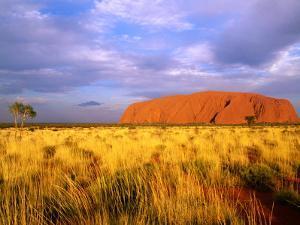 Uluru, Uluru-Kata Tjuta National Park, Northern Territory, Australia by John Banagan