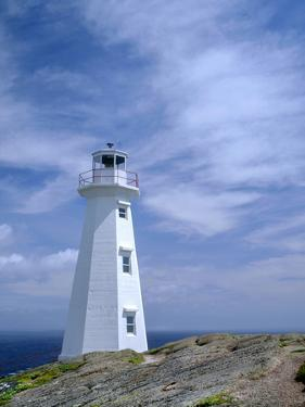 Canada, Newfoundland, Signal Hill National Historic Site, Cape Spear Lighthouse by John Barger