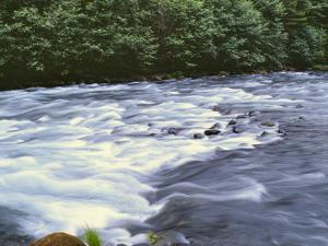 OR, Mount Hood NF. Upper reaches of the Clackamas River. by John Barger