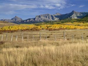 USA, Colorado, San Juan Mountains, Uncompahgre National Forest by John Barger