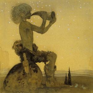 A Fairy Shepherd, 1910 by John Bauer