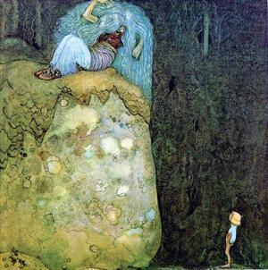 Boy Who Was Not Afraid of Trolls by John Bauer