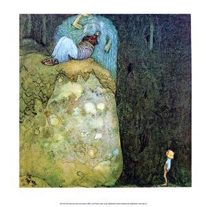 Boy Who Was Not Afraid of Trolls by John Bauer