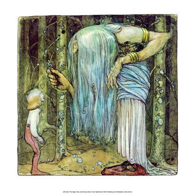 The Magic Herb by John Bauer
