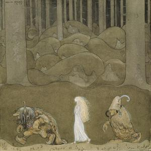 The Princess and the Trolls by John Bauer