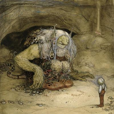 The Troll and the Boy by John Bauer