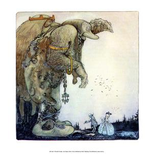 Trolls with People by John Bauer
