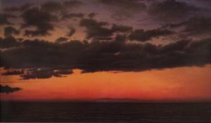 Dusk, Green Bay by John Beerman