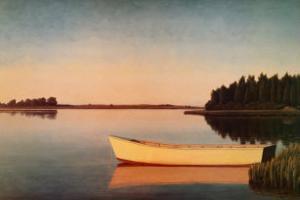 Three Mile Harbor, 1996 by John Beerman