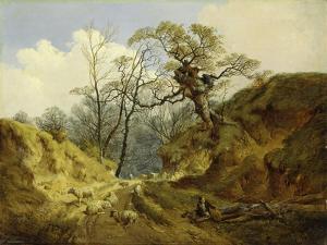 Crown Point, Whitlingham, Near Norwich, 1855 by John Berney Ladbrooke