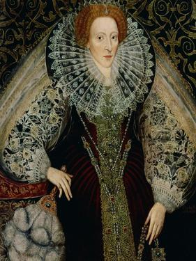 Queen Elizabeth I, circa 1585-90 by John Bettes the Younger