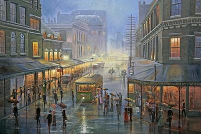 A Wet Evening - Sydney by John Bradley
