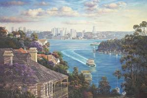 Afternoon Light Sydney Harbour by John Bradley