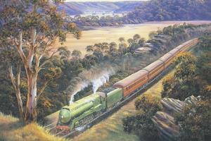 Approaching Cowan Bank by John Bradley