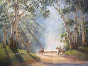 Early Morning Muster by John Bradley