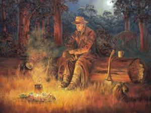 Old Mates 2 by John Bradley