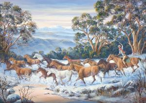 The Man from Snowy River by John Bradley