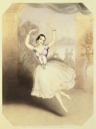 Carlotta Grisi by John Brandard