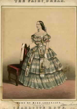 Miss Lascelles Costume by John Brandard