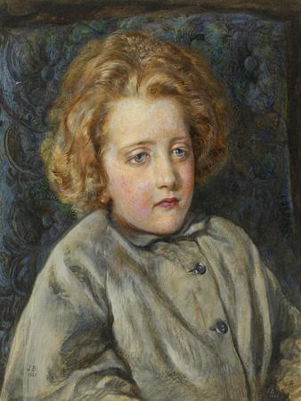 Portrait of Laura Theresa Epps (Lady Alma-Tadema) as a Child, 1860
