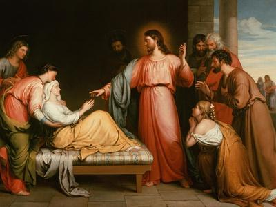 Christ Healing the Mother of Simon Peter