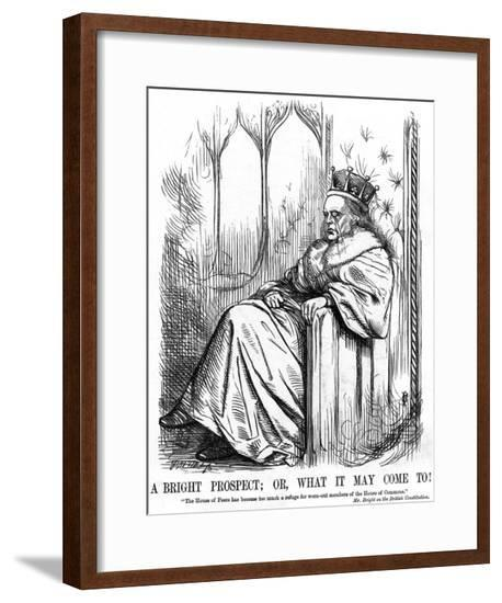 John Bright as a Lord--Framed Giclee Print