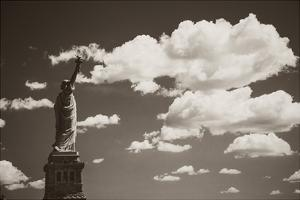 Liberty in the Clouds by John Brooknam
