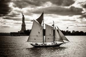 The Clipper and the Liberty by John Brooknam