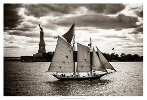The Clipper & the Liberty by John Brooknam