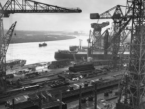John Brown's Shipyard on the Clyde