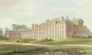 South East View of Kensington Palace, 1826 by John Buckler