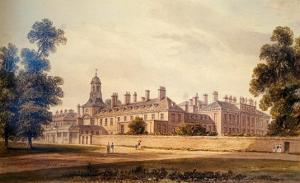 The South-West View of Kensington Palace, 1826 by John Buckler