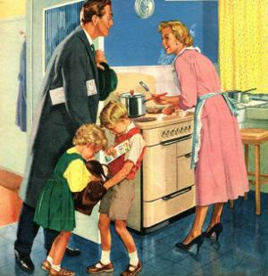 John Bull, Cooking Housewives, UK, 1950