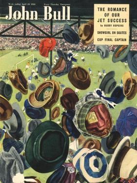 John Bull, Football Hats Magazine, UK, 1950