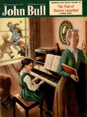 John Bull, Piano Pianos Grand Playing Lessons Games Teachers Magazine, UK, 1951