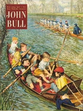 John Bull, Rowing Training Canoeing Canoes Sport Boats Magazine, UK, 1950