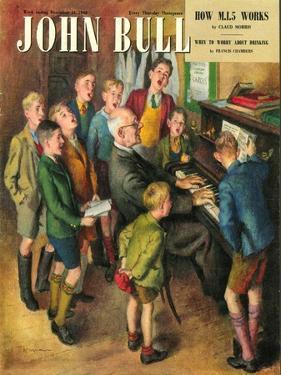 John Bull, School Concerts Singing Pianos Teachers Lessons Magazine, UK, 1948