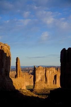A Scenic View of Arches National Park by John Burcham