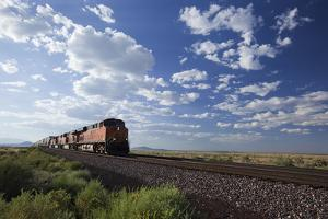 A Train Crossing the Landscape by John Burcham