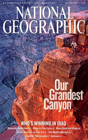 Cover of the January, 2006 National Geographic Magazine