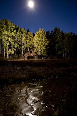 Ghost Town in Bonanza, Colorado by John Burcham
