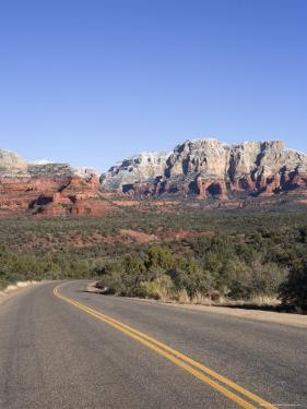Road in Sedona Arizona, USA by John Burcham