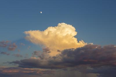 Storm Clouds and Sunset in Arizona by John Burcham