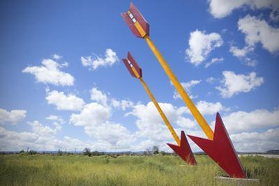 Twin Arrows Located on Old Route 66 in Arizona, Usa