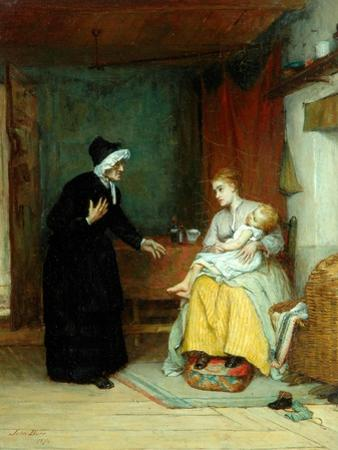 Anxious Moments, 1874 by John Burr